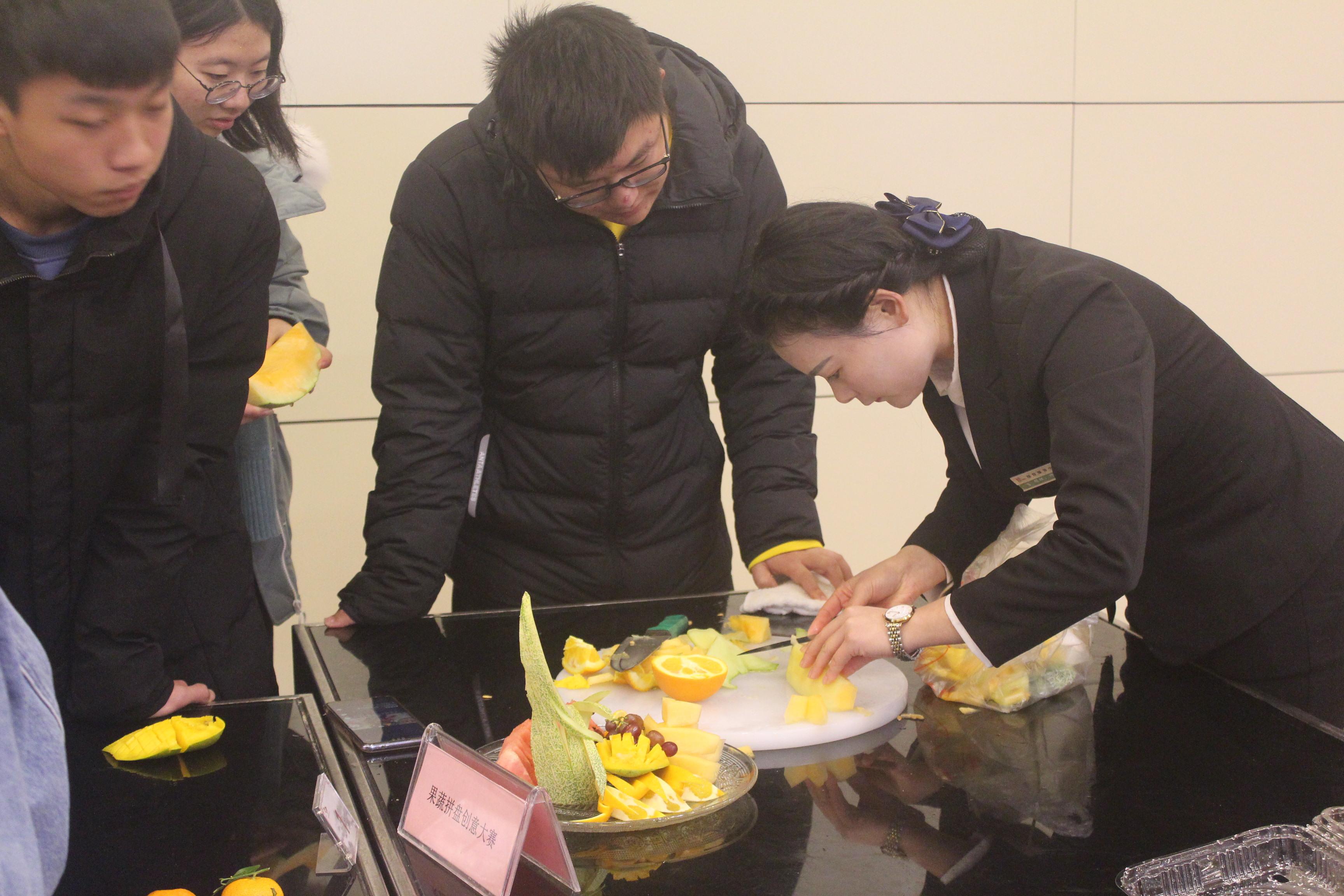 水果拼盘活动名称_【文化节】接待服务中心:创意DIY 趣味无穷-浙江农林大学后勤集团